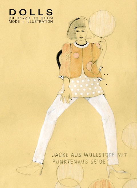Julia Krupp - Mode - Illustration