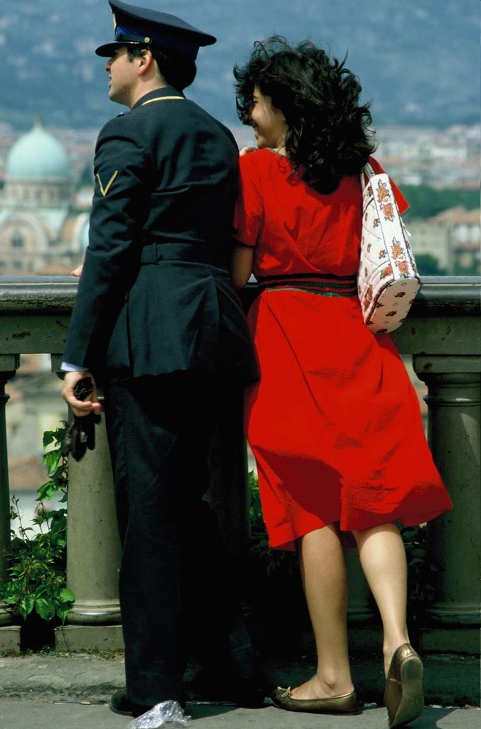 'Il Carabiniere e la Signorina' Florenz 1978